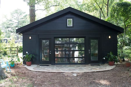 Svartküb - the black cube tiny house. Unique! - Ξενώνας