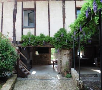 """Chambre et salle de bain privée """"Ambel"""" - Saint-Jean-en-Royans"""