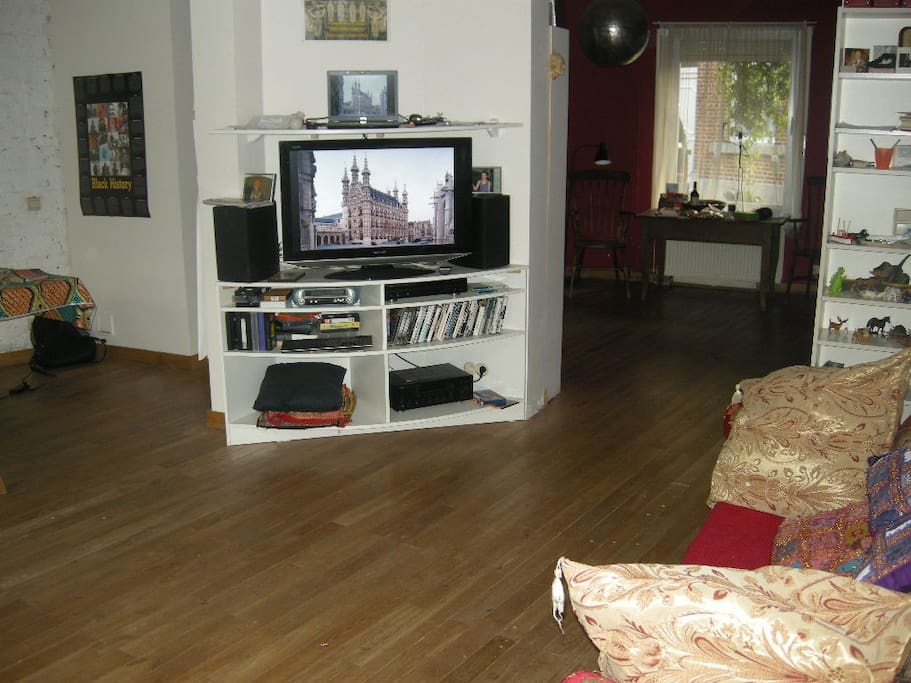 our ground floor - the tv part