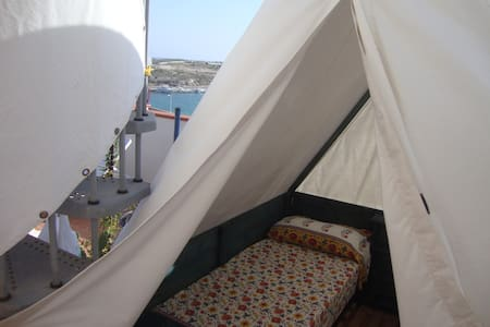 TENT ON THE BALCONY 360 ° - Bed & Breakfast
