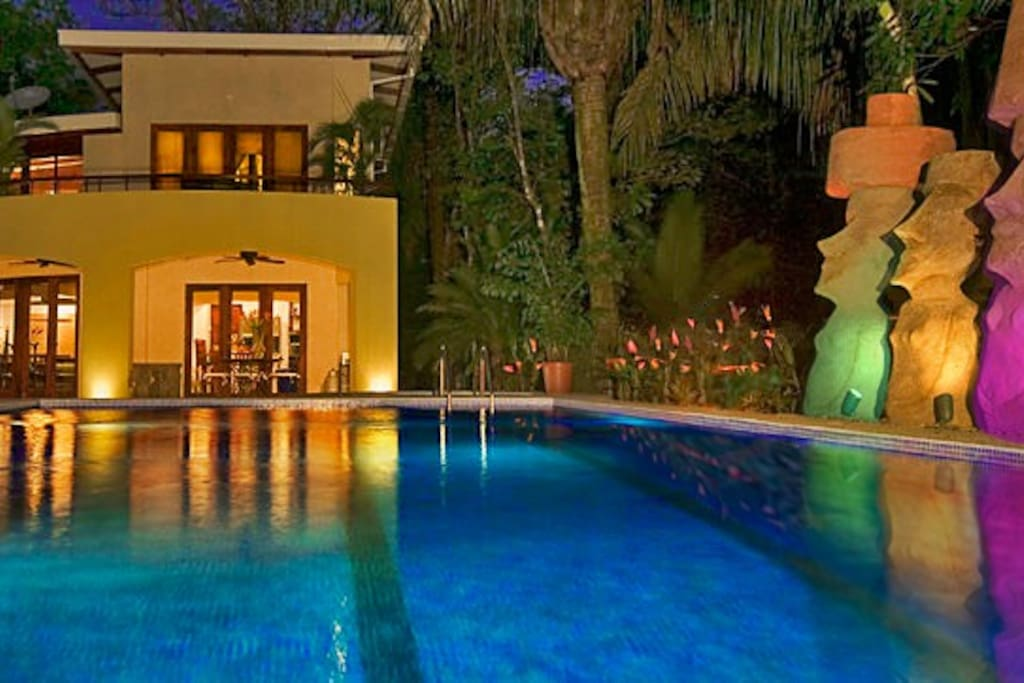Midnight at your oasis.