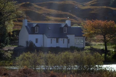 Arienskill Cottage in Scottish Highlands - House