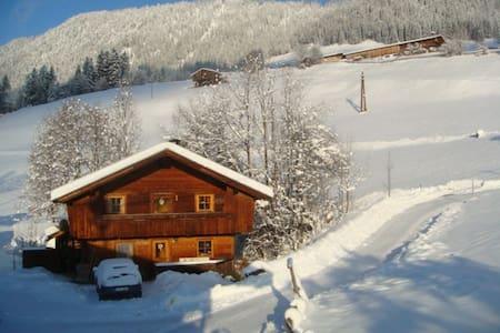 Hüttenappartement mit Kachelofen - Alpbach
