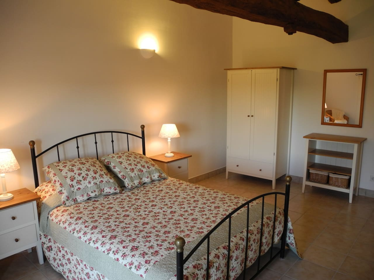 Malbec - your spacious private bedroom