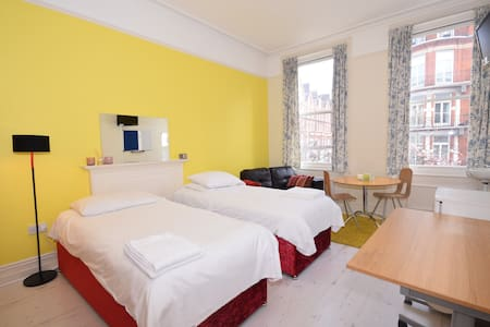 Cosy Twin Bedroom in Kensington - Londra - Bed & Breakfast