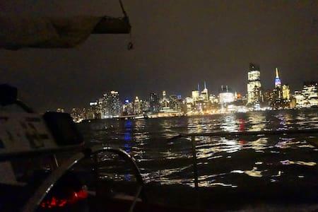 Boat! 10 mins from Manhattan! - Weehawken - Barca