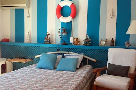 Cosy bedroom, quiet with access to swimingpool - House