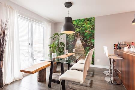 Unique appartment in Québec city ! - Daire