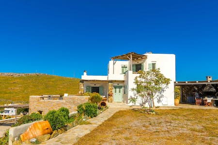 Cyclades villa with panoramic view - Huvila