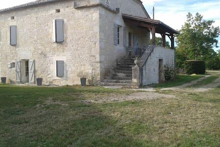 Gîte proche Cahors 6/8 personnes - Haus