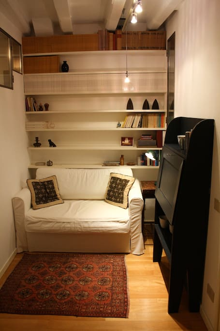 little studio with sofa-bed