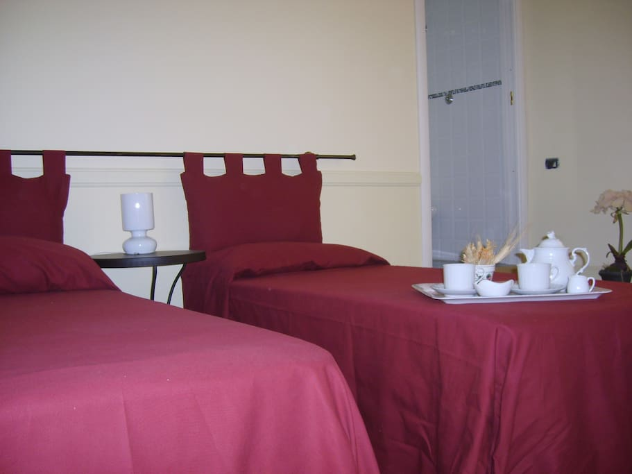 Rooms with pvt toilet near Colosseo