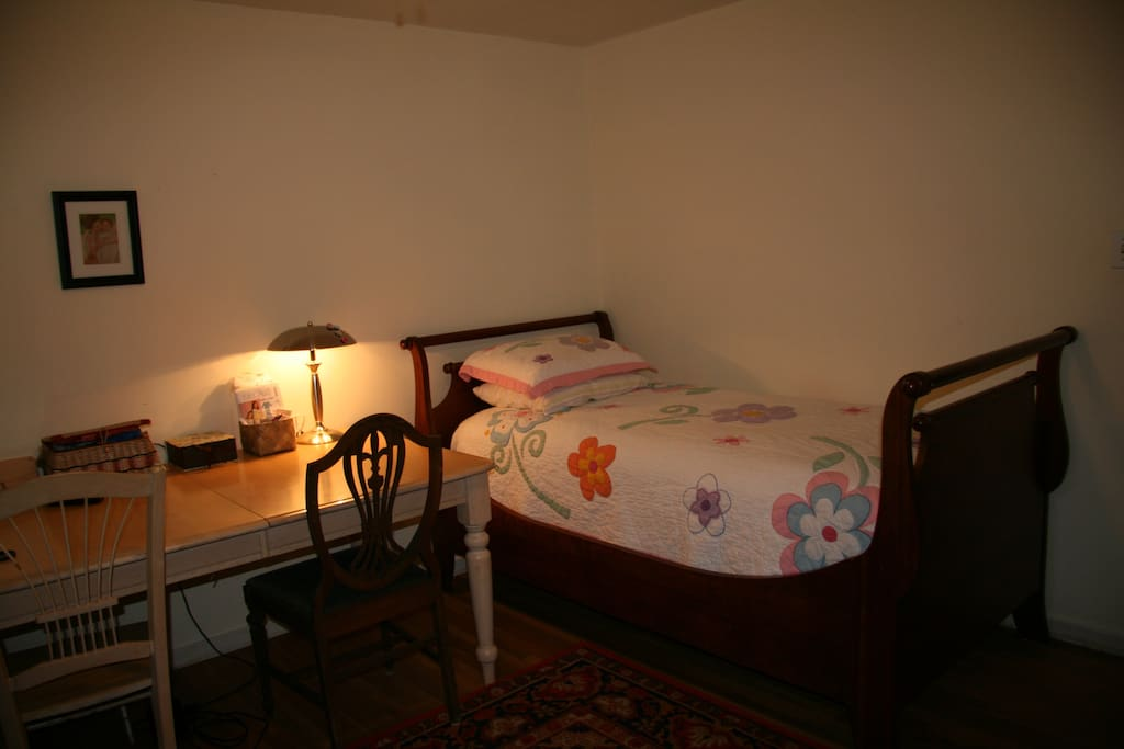 Bedroom 2 - will bring in a mattress for 4th person