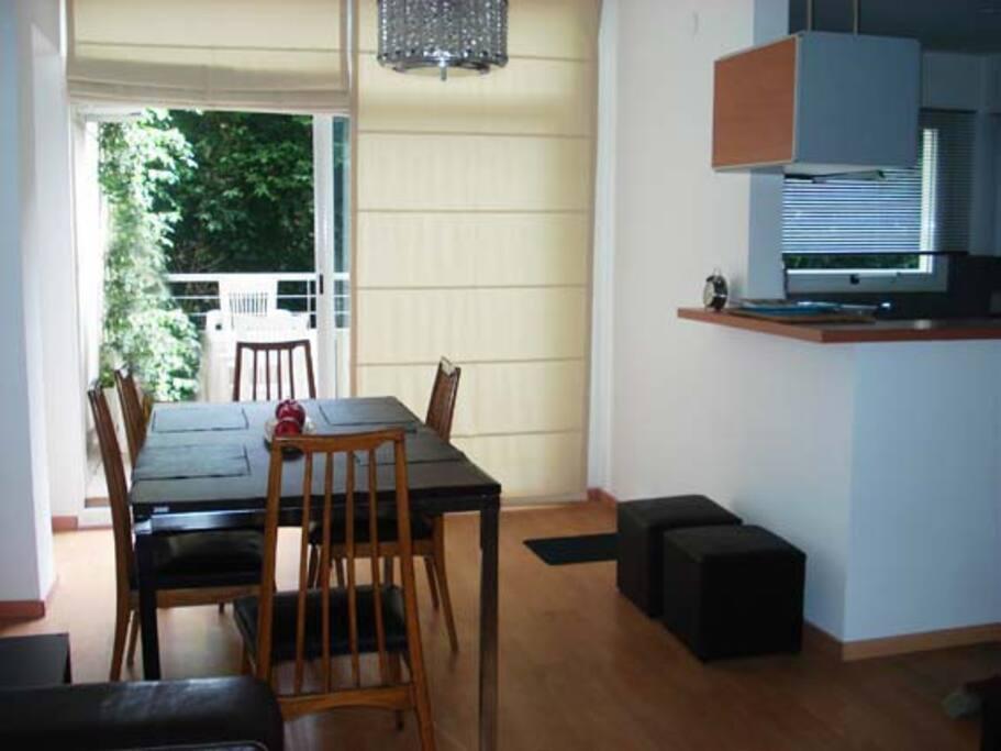 Dinner Room & Balcony Terrace / Outdoor Area 25 m3