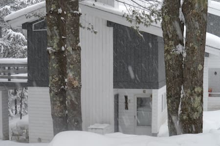 Slopeside condo in Stowe, VT - Stowe - Townhouse