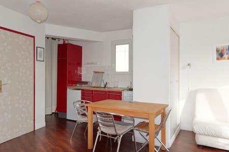 Vue sur mer pour cet appartement en duplex - Saint-Pair-sur-Mer - Apartment