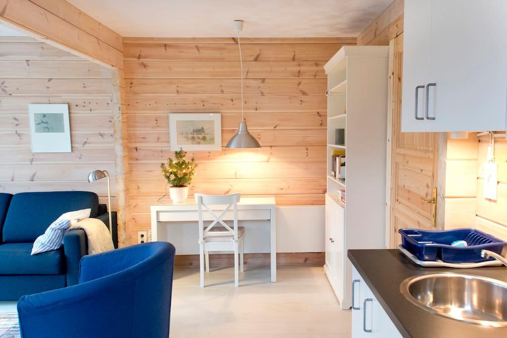 The Blue Garden Cottage