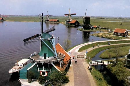 Windmills and Amsterdam - Zaandam