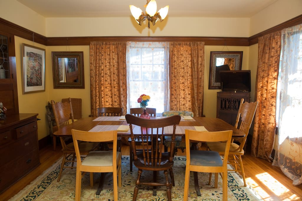 Formal Dining area with casual dining.