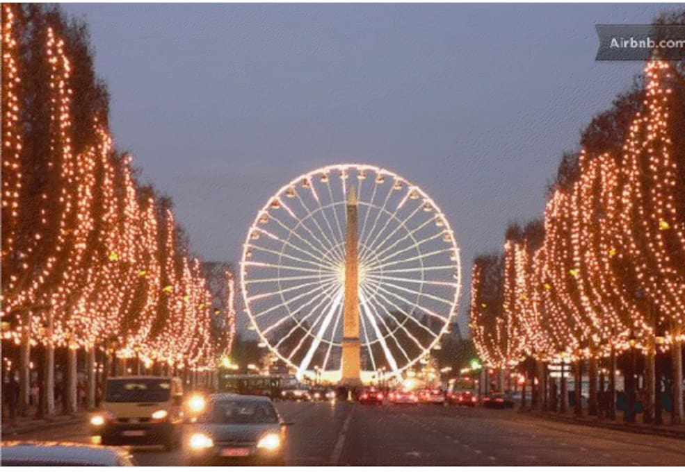 AVENUE DES CHAMPS ELYSEES LA ROUE PARIS 16 A NICE FLAT CHAMPS ELYSEES LOUIS VUITTON