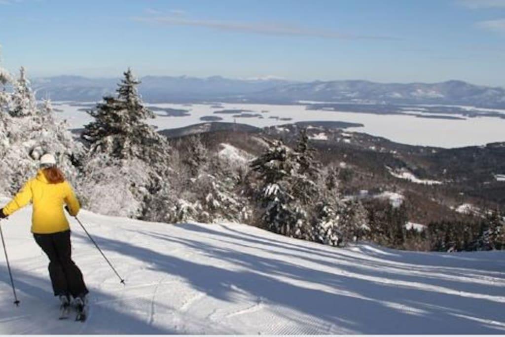 Ski, ride and sled at Gunstock Mountain - 20mins away