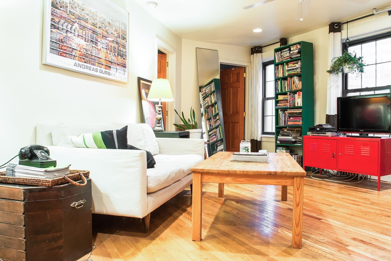 1 BR in large full floor apartment