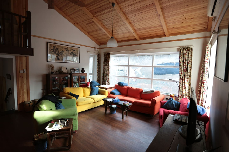 Gladys Garden - living room