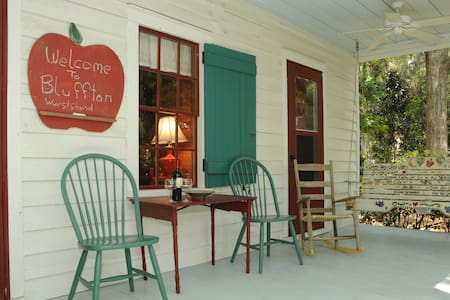 Bluffton's Historic  Guest House - Bluffton - Stuga