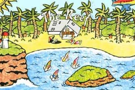 The Reef Beach Huts on Sandy Beach - Sandy Beach - Bed & Breakfast