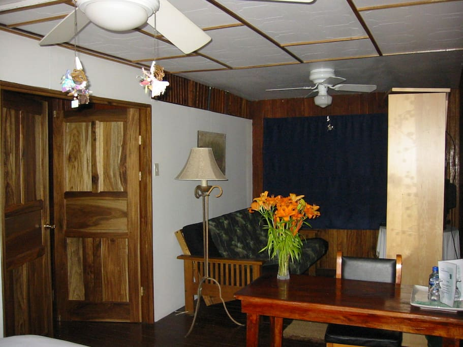 Treetop Room - Street Side - Largest room Sleeps 4