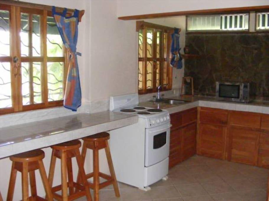 Villa 1- Kitchen Area