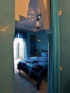 chambre yasmina (bleue) - Bed & Breakfast