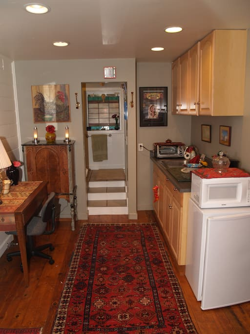 Kitchen also includes full pantry including all spices and pots and pans,