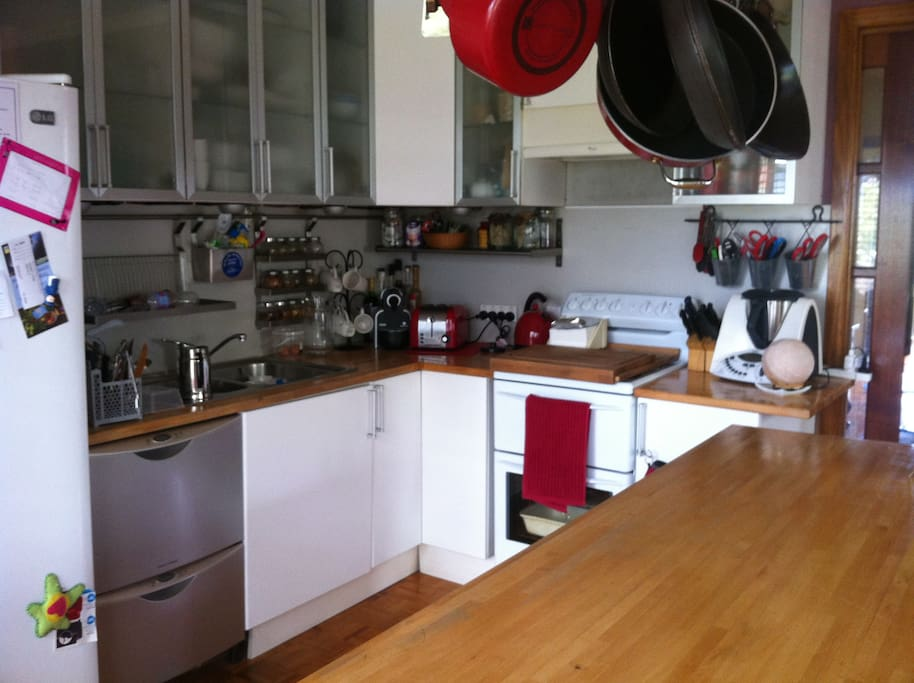 Kitchen with all modern conveniences