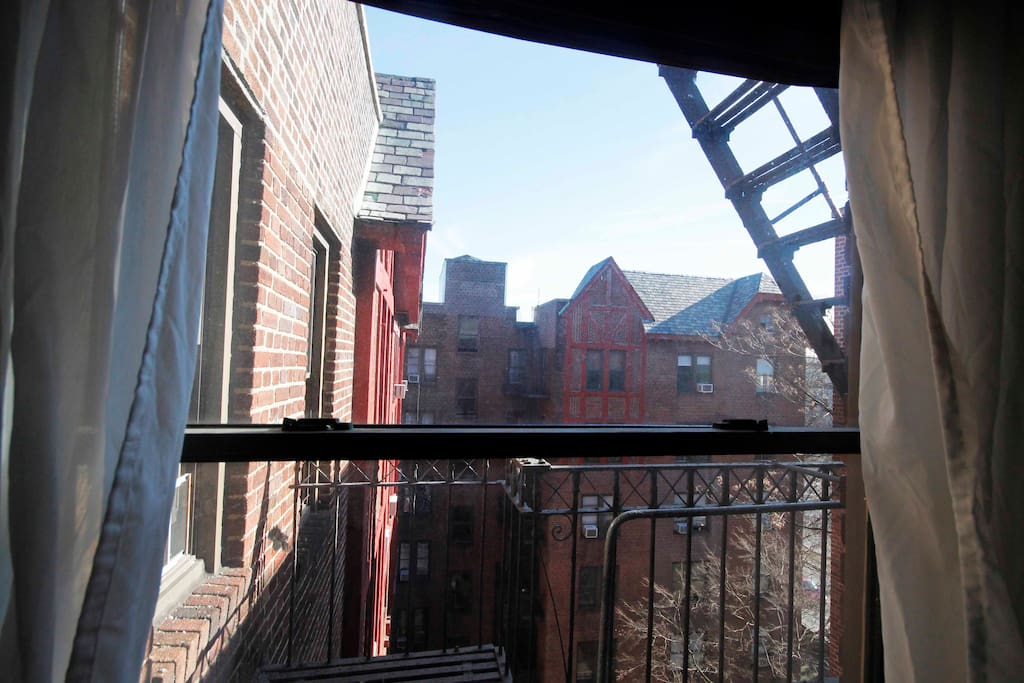 View from your bedroom