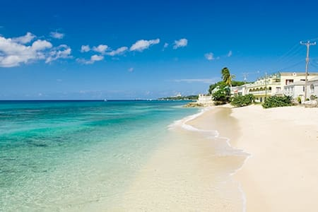 Beachfront apt., Barbados westcoast - Douglas