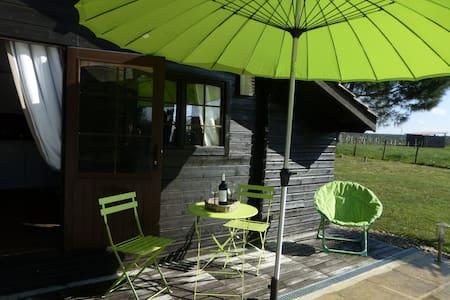 Gîte Studio Les Pins Perdus proche St Emilion - Saint-Ciers-d'Abzac - Dağ Evi