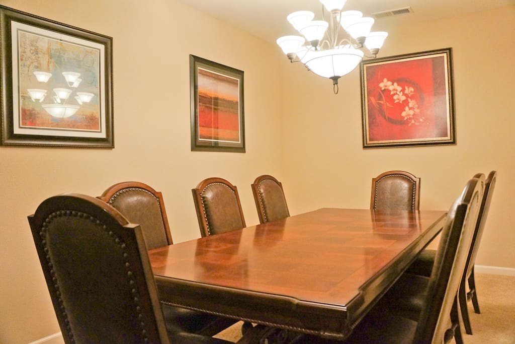 Our dinning room is available for a business meeting or other use.