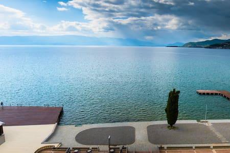 Ohrid, Golden Beach , appart 134M2 , Macedonia - Ohrid - Apartemen