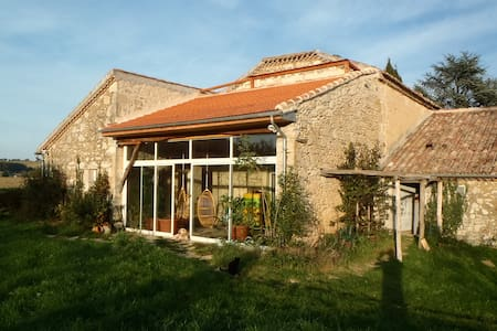 "B&B or cottage rental in the ""rural Gascony"" - Saint-Mézard - Haus"