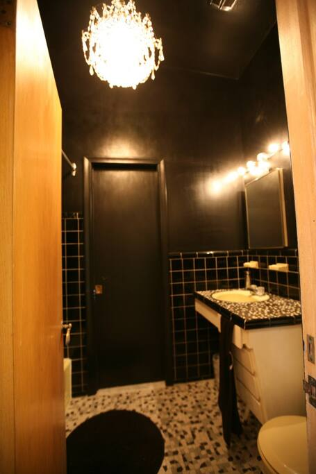 Guest bathroom / Salle de bain invités
