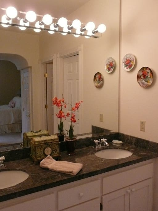 Master bathroom downstairs