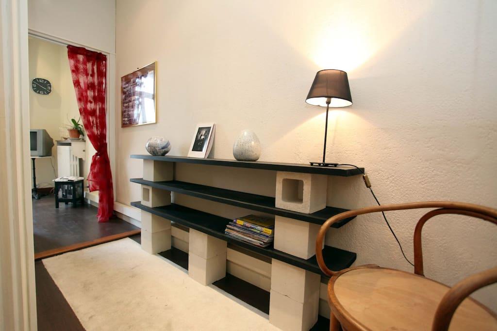 « Chambre + salon »   l'ENTRÉE
