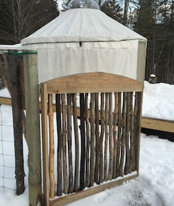 Yurt in Warren Vermont - Warren - Yurt