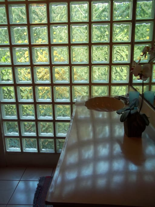 bathroom in the teak house