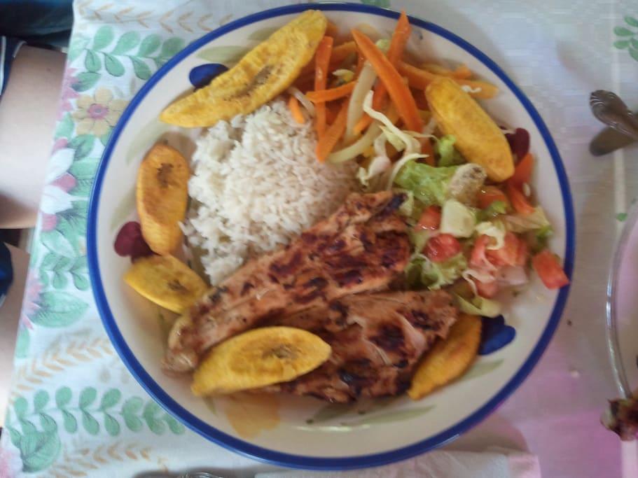 Classic Nicaraguan plate