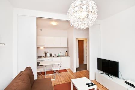 White Apartment in Old Gdańsk - Gdansk - Apartemen