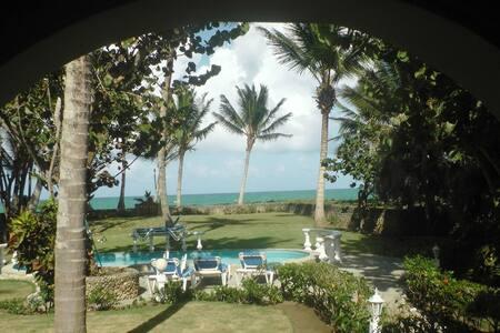 Beach front luxury villa  - Cabarete