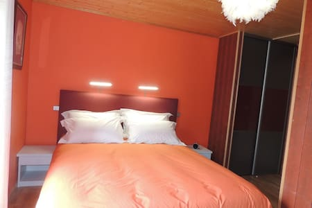 chambres d'hotes : chez nadine... chambre Paturage - Bed & Breakfast