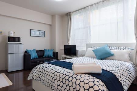 SHIBUYA: great location / modern style / free wifi - Shibuya-ku - Flat